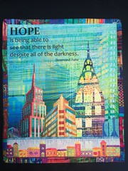 Hope Mini Quilt (ann-marieanderson-mayes) Tags: beautifulstitches embroidery canvaswork needlepoint miniquilt