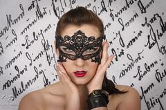 Promissory Note (Keltron - Thanks for 10M Views!) Tags: select alexandra mask mardigrasmask greeneyes beautifulgirl sexygirl ukrainiangirls ukrainegirls mysterious leather redlipstick redlips brunette model