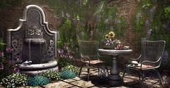 Home Decor: Garden Nook (Blanche Foxclaw) Tags: shinnyshabby deathrowdesigns aria applefall azalea heart