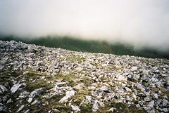 Cloud on Carn Bhac (megalithicmatt) Tags: cloud scree carnbhac xa2 perutzprimera200 coirebhearnaist