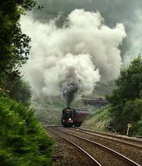 No Smoke Without Fire (Kingmoor Klickr) Tags: 48151 stanier 8f dalesman charter mainline gill ais sc settlecarlisle