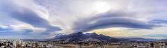 Such a Sky (Yassine Abbadi) Tags: cloud nuage sky ciel stratocumulus montagne mountain city ville habitation building river rivière tetouan tetuan maroc morocco marruecos