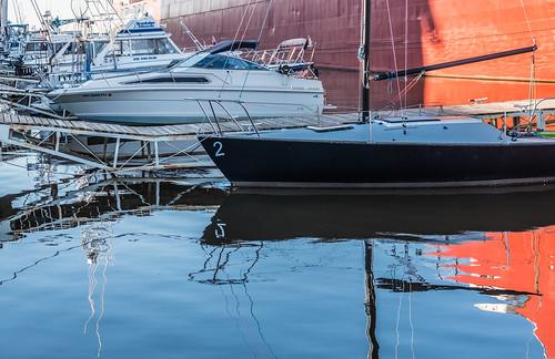 williamairvinship boats marina sailboats waterreflection yachts duluth minnesota unitedstates us cfpti17