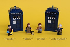 Coming soon... (noggy85) Tags: lego moc doctorwho comiccon newwho britishsifi tardis bbc 9thdoctor 10thdoctor 11thdoctor 12thdoctor sonicscrewdriver banana hand cyberman guitar gitarre policebox christopherecclestone davidtennant mattsmith petercapaldi