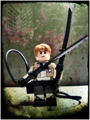 Survey Corps (LegoKlyph) Tags: lego custom minifigure attack titan survey corp swords giants monsters anime cartoon adultswim manga 104th