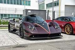 760 Fantasma Evo (Luca Crotti Photography) Tags: pagani zonda 760 fantasma evo raduno vanishing point purple automotive supercar hypercars italian horse power