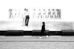 LOVE II (ThorstenKoch) Tags: streetphotography street strasse düsseldorf stadt blackwhite bnw monochrome art walk alone fuji fujifilm xt10 candit elvis love