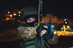 Lotar Counter-Terrorism Unit in (Israel Defense Forces) Tags: urbanwarfare counterterrorism lotar specialforces idfurbanwarfaretrainingfacility unit hostage save saving night building gun handgun