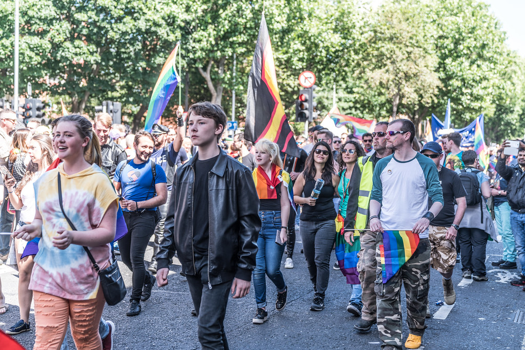 LGBTQ+ PRIDE PARADE 2017 [ON THE WAY FROM STEPHENS GREEN TO SMITHFIELD]-130039