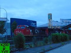 Canadian National Railway 1992 Dash 8-40CW (2178 lead) (K200YVR) Tags: train locomotive cnr cnrail railway canadiannationalrailway