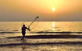 Pescadores del amanecer