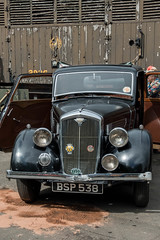 Wolseley 12 Black Car. (Bob Green 52) Tags: svr severnvalleyrailway svrwarweekend2017 severnvalley railway train steam smoke war engine loco rails worcestershire 40sweekend reenactment