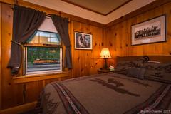 BNSF from the Izaak Walton Inn (Brandon Townley) Tags: trains railroad bnsf izaakwaltoninn architecture interior hotel essex montana