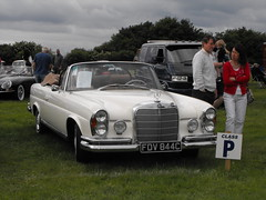 Mercedes-Benz -  FDV 844C (1) (Andy Reeve-Smith) Tags: fdv844c 350sl convertible mercedesbenz germany german westgermany louth louthclassiccarshow deightonfields lincolnshire lincolnshirewolds