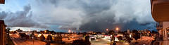 Stormy Evening in Lachine (Memory Trigger) Tags: rainbowbridge quebec montreal canada plaza storm lachine cloud