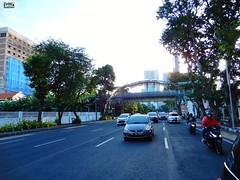DSCN5857 (Detta Priyandika) Tags: street jalan raya scape urban city surabaya indonesia endonezya basra suroboyo skyscrapers sidewalk skyscraper sunset