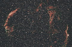 Veil Nebula (Jammie Thouin) Tags: ashfield astrophotography astro astronomy abstract astrotech at65edq black background canon eos field sky lowlight massachusetts nebula ngc refractor space star stars system telescope t3 veil