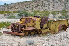 West Texas Truck: Desert Low Rider? (adamkmyers) Tags: lowrider truck classictruck westtexas terlingua