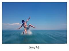 Flying in a blue sea (KOSTAS PILOT) Tags: greece greeklife peloponese sea ionion mediterranean action greeksummer summer summertime sky kostaspilot sony sonyz2 xperia beach focus ελλάδα πελοπόννησοσ καλοκαίρι θαλασσα παραλια ουρανόσ μπλε blue μεσογειοσ ιονιον flying
