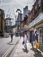 Petticoat Lane and the Cranes of the City