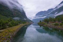 Somewhere in Norway... (einarsoyland) Tags: norway sogn river clouds salmon camping rain fujifilm fuji xf16mm