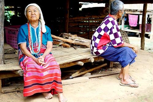 karen tribe, Chiang Mai, Thailand