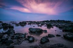 01052017-01052017-ACP_7089hd (alexandrechary) Tags: sunset seascape rocks sea water blue pink tide longexposure thailand asia landscape goldenhour travel nikon d750