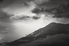 Clouds over Olympos (Anthony P26) Tags: category crystaldeluxe flickrpost kemer landscape places travel turkey canon canon1585mm canon70d mountain clouds mountolympos blackandwhite whiteandblack bw landscapephotography travelphotography rocks outdoor sky cloudysky greyclouds