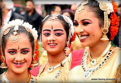 IMG_3709 Glasgow Mela 2017 (marinbiker 1961) Tags: india glasgowmela glasgow2017 colour outdoors group costumes makeup