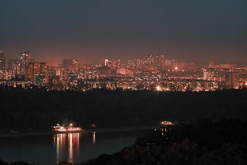 Вечерний Киев / Nighttime Kiev ©  spoilt.exile
