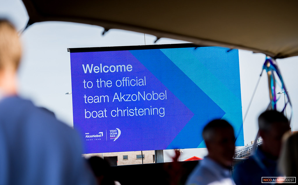 Akzonobel Boat Christening