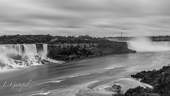 View of both the American and Canadian falls (Lgampel) Tags: toronto canadaday canada 2017 specland niagara falls day sony photograph canadian waterfall north america ontario night light bridal veil chutes sightseeing people myst horseshoe vacation travel flickr tourists destination