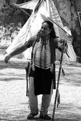 Native American (S. Mel photo) Tags: 300mm sigma canon native american monocrome