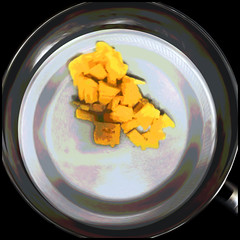 (Cliff Michaels) Tags: iphone iphone6 photoshop pse9 food cheese pan