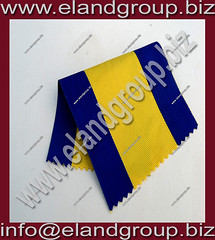 Moire Ribbon Blue & Yellow (adeelayub2) Tags: moire ribbon blue yellow