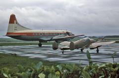 Convair CV-240-27 ET-29 F.A.A. (EI-DTG) Tags: planespotting aircraftspotting corkairport eick ork convair propliner n95 convair240 cv240 faa 28jul1978