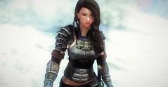 Irked Raina | Blades Armor (noirslate) Tags: skyrim girl 4k armor fantasy