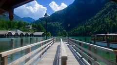 Bavaria, god's own country - Königssee/King's lake landing. (F.R.L., thanks for your views and comments!) Tags: mountains lake nature outdoor königssee bavaria worldtrekker