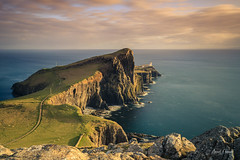 The golden cliffs of Neist Point (Tekila63) Tags: scotland ecosse isleofskye skye sunset lighthouse
