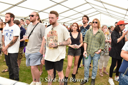 Crowds at Village Green 2017