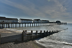 Southwold Pier (Bri_J) Tags: southwold suffolk uk seaside beach northsea coast nikon d7200 promenade southwoldpier hdr groyne waves