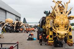 The dragon horse and spider (darkhourofthecrow) Tags: aviationmuseum lamachine ontario ottawa dragonandspider