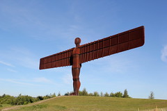 """The """"Angel of the North"""" (Andy bradders) Tags: gateshead birtley road a1 angelofthenorth constructed steel 1994 1998 landmark icon england uk anthonygormley angel north northeast upnorth"""
