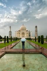 Me, TajMahal & Photography (Ashmalikphotography) Tags: tajmahal tajmahalpictures agra monuments incredibleindia mughals mughalarchitecture lovefortravel lovefornexplaces clouds mughalgardens madeformughals