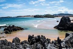 Playa de Isla (cvielba) Tags: cantabria cantabrico isla mar playa rocas
