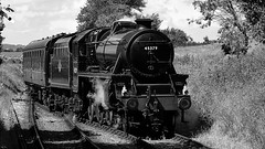 Train (Bernie Condon) Tags: warontheline watercressline hampshire uk railway ropley station vintage classic ww2 steamtrain train transport rail