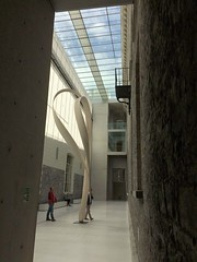 Refurbished National Gallery of Ireland (Wendy:) Tags: ngi interior wood sculpture