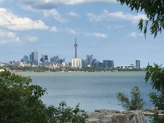 CN Tower and the Toronto skyline