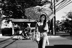 (Meljoe San Diego) Tags: meljoesandiego fuji fujifilm streetphotography candid streetlife monochrome blackwhite umbrella philippines