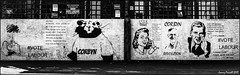 Street Art by John Doh (zolaczakl) Tags: bristol bristolinmonochrome mono monochrome johndoh street streetart streetscenes graffiti stwerburghs jamesst thevictoriapub uk june 2017 photographybyjeremyfennell nikond7100 nikonafsnikkor24120mmf4gedvrlens blackandwhitebristol blackandwhite election politics corbyn